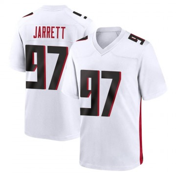 Youth Nike Atlanta Falcons Grady Jarrett White Jersey - Game