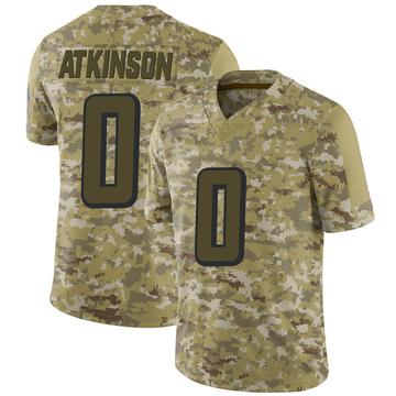 Youth Nike Atlanta Falcons Hunter Atkinson Camo 2018 Salute to Service Jersey - Limited