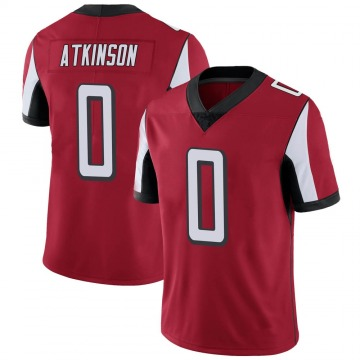 Youth Nike Atlanta Falcons Hunter Atkinson Red Team Color Vapor Untouchable Jersey - Limited