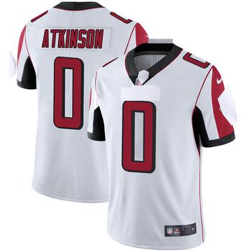 Youth Nike Atlanta Falcons Hunter Atkinson White Vapor Untouchable Jersey - Limited
