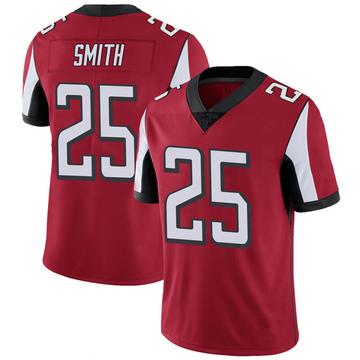 Youth Nike Atlanta Falcons Ito Smith Red 100th Vapor Jersey - Limited