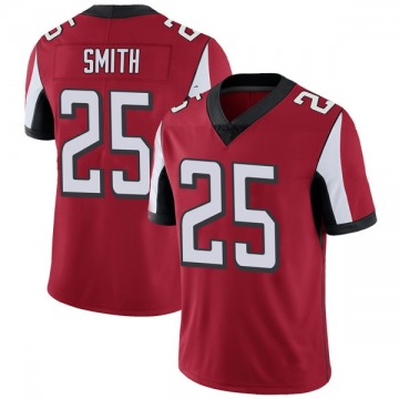 Youth Nike Atlanta Falcons Ito Smith Red Team Color Vapor Untouchable Jersey - Limited