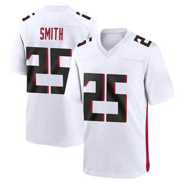 Youth Nike Atlanta Falcons Ito Smith White Jersey - Game