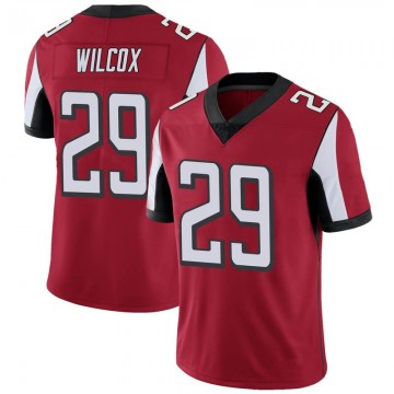 Youth Nike Atlanta Falcons J.J. Wilcox Red Team Color Vapor Untouchable Jersey - Limited