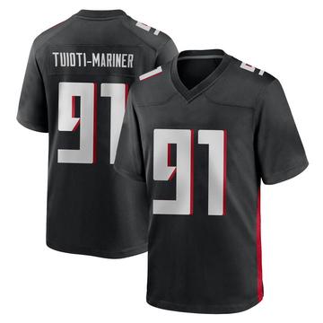 Youth Nike Atlanta Falcons Jacob Tuioti-Mariner Black Alternate Jersey - Game