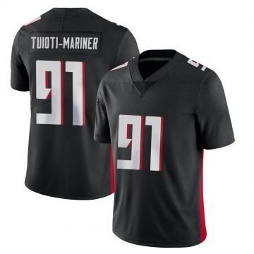Youth Nike Atlanta Falcons Jacob Tuioti-Mariner Black Vapor Untouchable Jersey - Limited