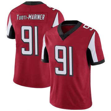 Youth Nike Atlanta Falcons Jacob Tuioti-Mariner Red 100th Vapor Jersey - Limited