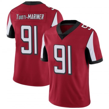 Youth Nike Atlanta Falcons Jacob Tuioti-Mariner Red Team Color Vapor Untouchable Jersey - Limited