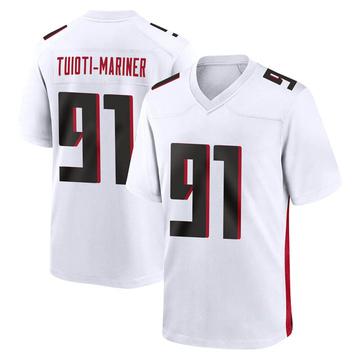 Youth Nike Atlanta Falcons Jacob Tuioti-Mariner White Jersey - Game
