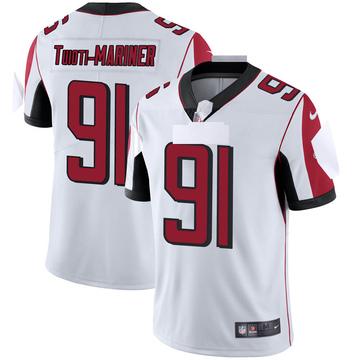 Youth Nike Atlanta Falcons Jacob Tuioti-Mariner White Vapor Untouchable Jersey - Limited