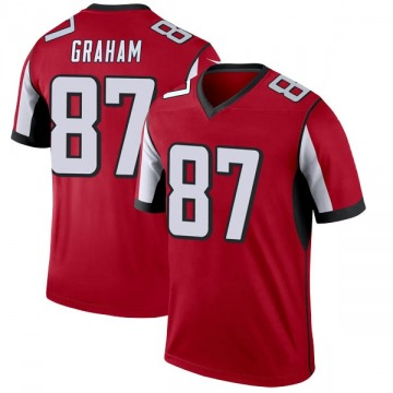 Youth Nike Atlanta Falcons Jaeden Graham Red Jersey - Legend
