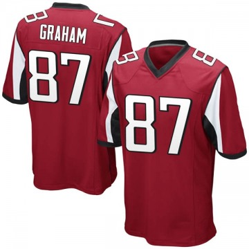 Youth Nike Atlanta Falcons Jaeden Graham Red Team Color Jersey - Game