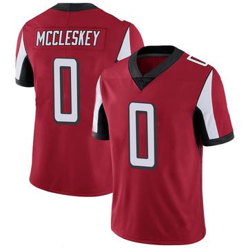 Youth Nike Atlanta Falcons Jalen McCleskey Red 100th Vapor Jersey - Limited