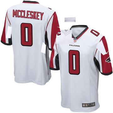 Youth Nike Atlanta Falcons Jalen McCleskey White Jersey - Game