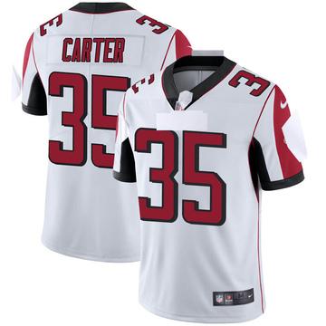 Youth Nike Atlanta Falcons Jamal Carter White Vapor Untouchable Jersey - Limited
