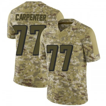 Youth Nike Atlanta Falcons James Carpenter Camo 2018 Salute to Service Jersey - Limited
