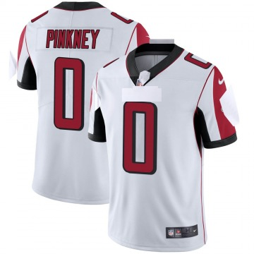 Youth Nike Atlanta Falcons Jared Pinkney Pink White Vapor Untouchable Jersey - Limited