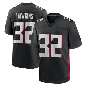 Youth Nike Atlanta Falcons Jaylinn Hawkins Black Alternate Jersey - Game
