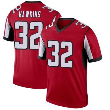 Youth Nike Atlanta Falcons Jaylinn Hawkins Red Jersey - Legend