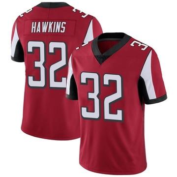 Youth Nike Atlanta Falcons Jaylinn Hawkins Red Team Color Vapor Untouchable Jersey - Limited