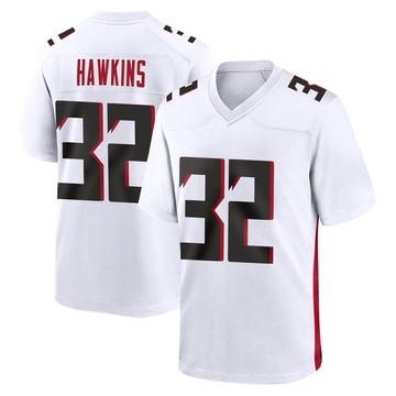 Youth Nike Atlanta Falcons Jaylinn Hawkins White Jersey - Game