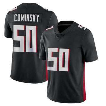 Youth Nike Atlanta Falcons John Cominsky Black Vapor Untouchable Jersey - Limited