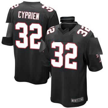 Youth Nike Atlanta Falcons Johnathan Cyprien Black Alternate Jersey - Game