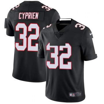 Youth Nike Atlanta Falcons Johnathan Cyprien Black Vapor Untouchable Jersey - Limited