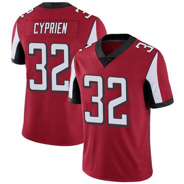 Youth Nike Atlanta Falcons Johnathan Cyprien Red 100th Vapor Jersey - Limited