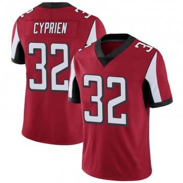 Youth Nike Atlanta Falcons Johnathan Cyprien Red Team Color Vapor Untouchable Jersey - Limited