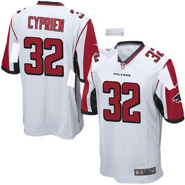 Youth Nike Atlanta Falcons Johnathan Cyprien White Jersey - Game