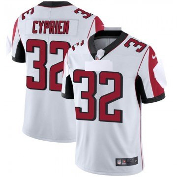 Youth Nike Atlanta Falcons Johnathan Cyprien White Vapor Untouchable Jersey - Limited