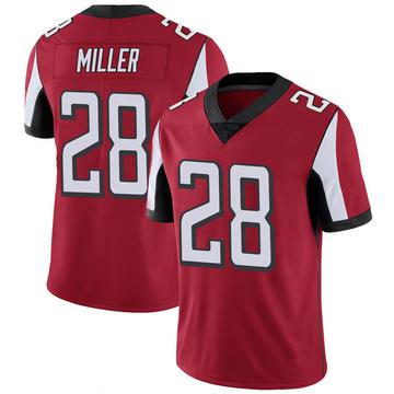 Youth Nike Atlanta Falcons Jordan Miller Red 100th Vapor Jersey - Limited
