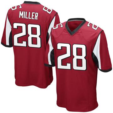 Youth Nike Atlanta Falcons Jordan Miller Red Team Color Jersey - Game