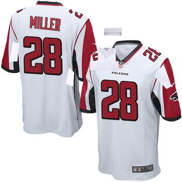 Youth Nike Atlanta Falcons Jordan Miller White Jersey - Game