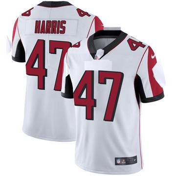 Youth Nike Atlanta Falcons Josh Harris White Vapor Untouchable Jersey - Limited