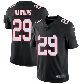 Youth Nike Atlanta Falcons Josh Hawkins Black Vapor Untouchable Jersey - Limited