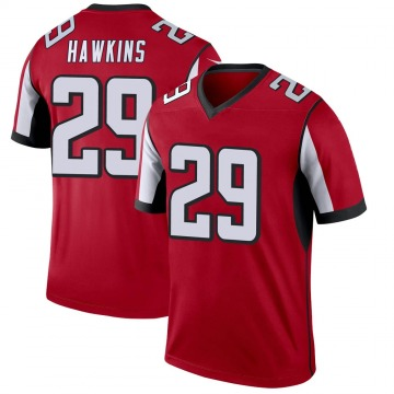 Youth Nike Atlanta Falcons Josh Hawkins Red Jersey - Legend