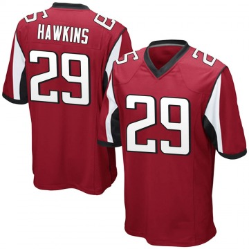 Youth Nike Atlanta Falcons Josh Hawkins Red Team Color Jersey - Game