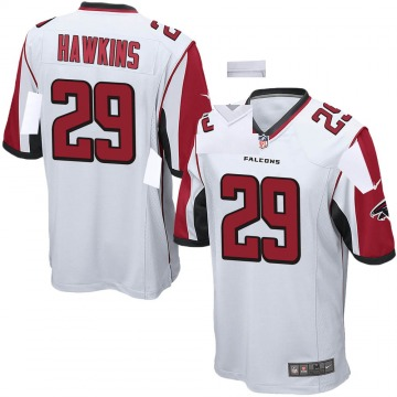 Youth Nike Atlanta Falcons Josh Hawkins White Jersey - Game