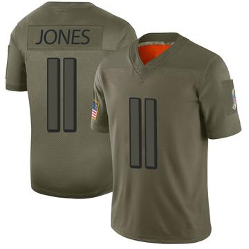 Youth Nike Atlanta Falcons Julio Jones Camo 2019 Salute to Service Jersey - Limited