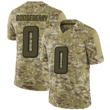 Youth Nike Atlanta Falcons Justin Gooseberry Camo 2018 Salute to Service Jersey - Limited