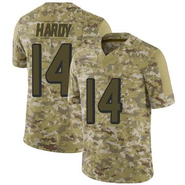 Youth Nike Atlanta Falcons Justin Hardy Camo 2018 Salute to Service Jersey - Limited