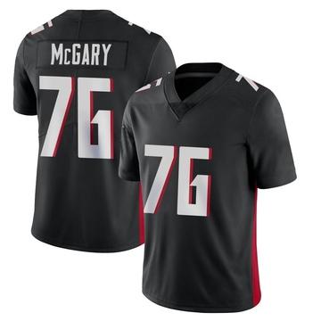 Youth Nike Atlanta Falcons Kaleb McGary Black Vapor Untouchable Jersey - Limited