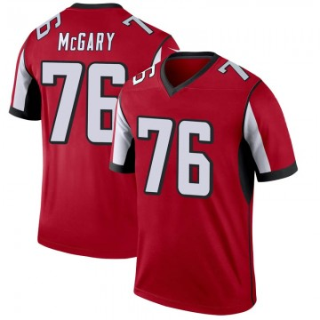 Youth Nike Atlanta Falcons Kaleb McGary Red Jersey - Legend
