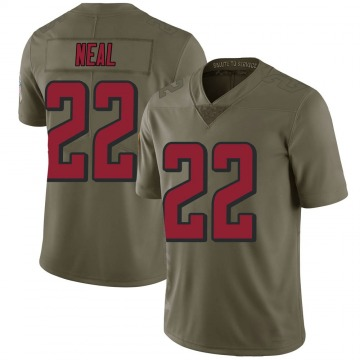 Youth Nike Atlanta Falcons Keanu Neal Green 2017 Salute to Service Jersey - Limited