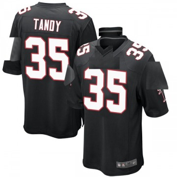 Youth Nike Atlanta Falcons Keith Tandy Black Alternate Jersey - Game