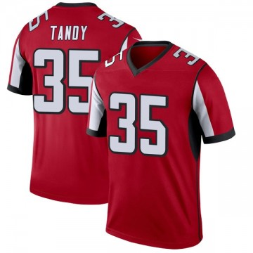Youth Nike Atlanta Falcons Keith Tandy Red Jersey - Legend