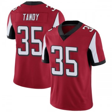 Youth Nike Atlanta Falcons Keith Tandy Red Team Color Vapor Untouchable Jersey - Limited