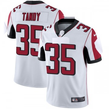 Youth Nike Atlanta Falcons Keith Tandy White Vapor Untouchable Jersey - Limited